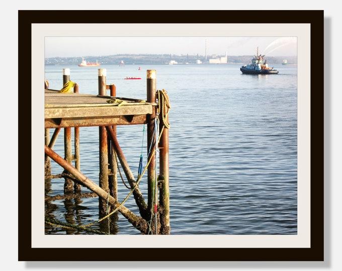 Ireland - Pier, Digital Download, Digital Photography, Frame TV Art, Zoom Background