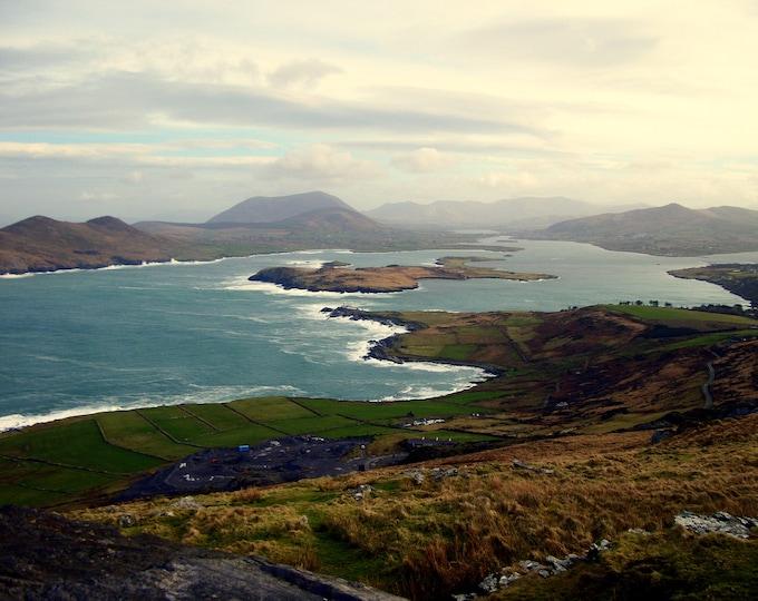 Ireland - Coast, Digital Download, Digital Photography, Frame TV Art, Zoom Background