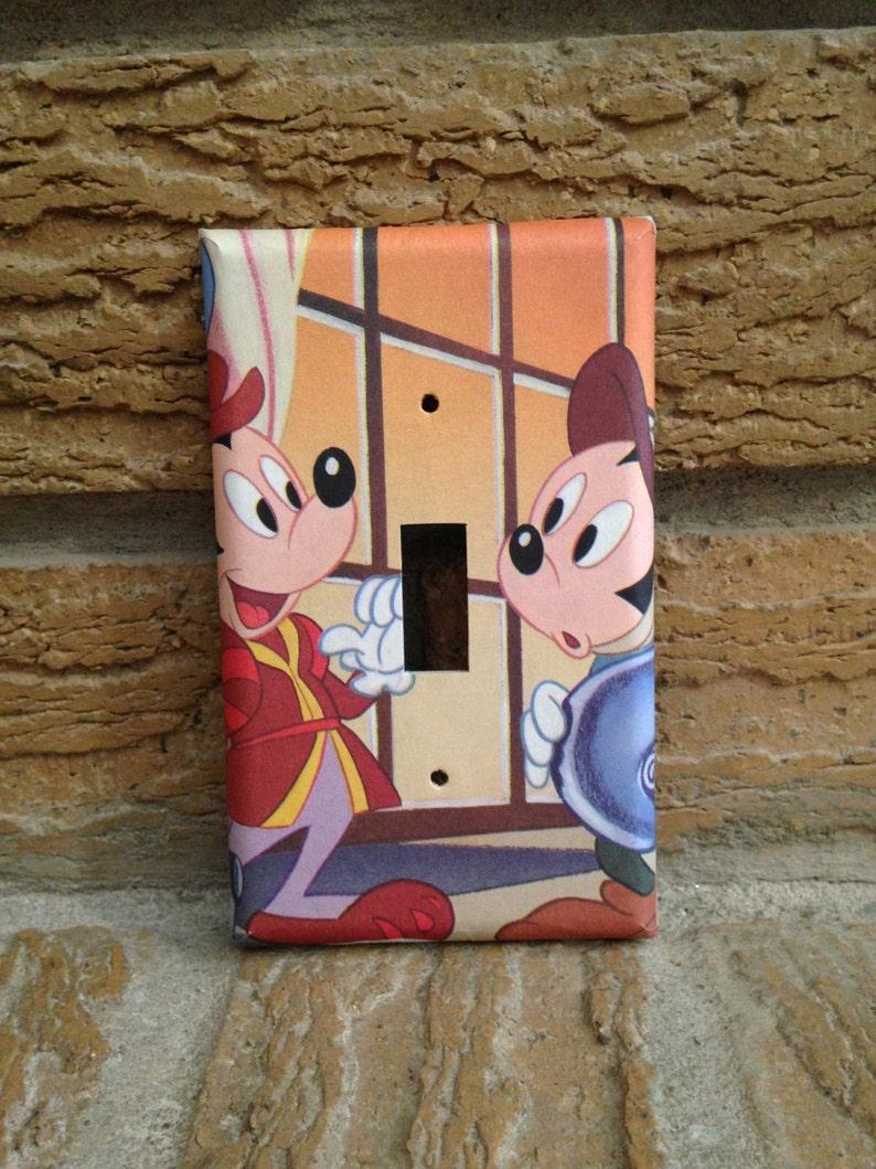 Micky Maus Lichtabdeckung Swich Mickey Mouse Dekor Micky Maus Kinderzimmer Mickey Mouse Dekoration Mickey Mouse Geschenk Mickey Mausi