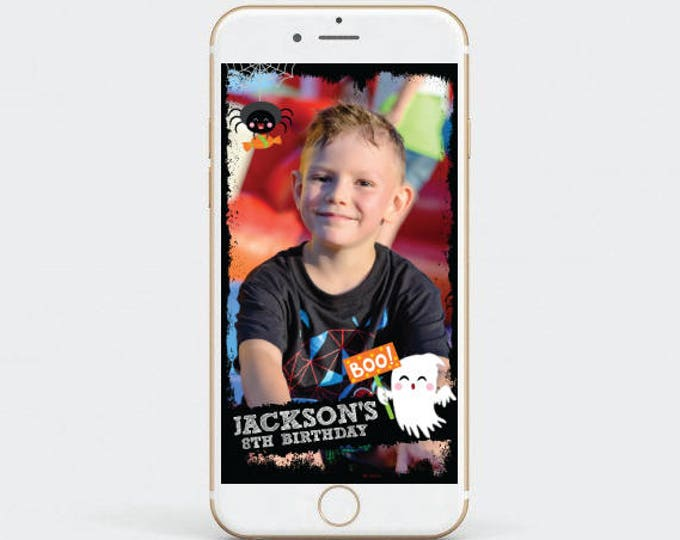 Halloween Snapchat Filter, Birthday Geofilter, Party Geofilter, Customized Filter for your party!