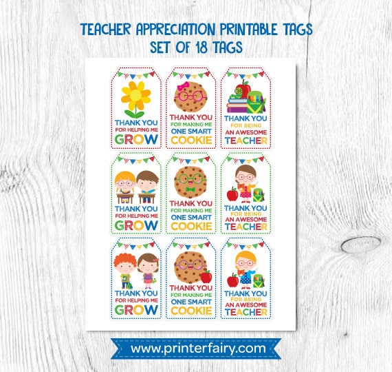 graphic relating to Thanks for Making Me One Smart Cookie Free Printable named Trainer appreciation tags, Instructor items conclusion of calendar year, Finish of university tags, Trainer present printable, Prompt Obtain