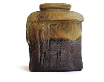 Steuler objekt series large ceramic vase, Heiner Balzar design, West German Pottery