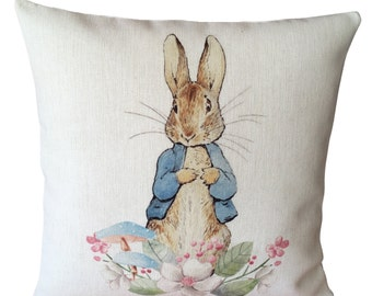 Peter Rabbit Pillow Cover