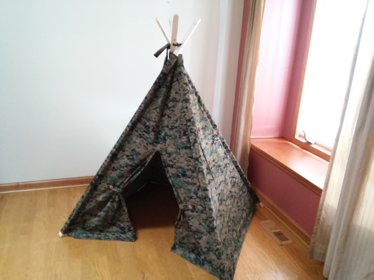& Camouflage Kids tent Childrens Tent Teepee Play Tent Tipi   Etsy