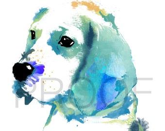 Beagle    Hound    Bill the Beagle    Beagle Art    Dog Art    Watercolor Dog Art    Watercolor Dog    Hound Art