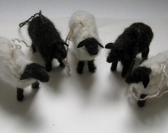 Christmas Sheep Etsy