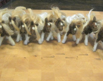 Wholesale Order of Felted Ponies.