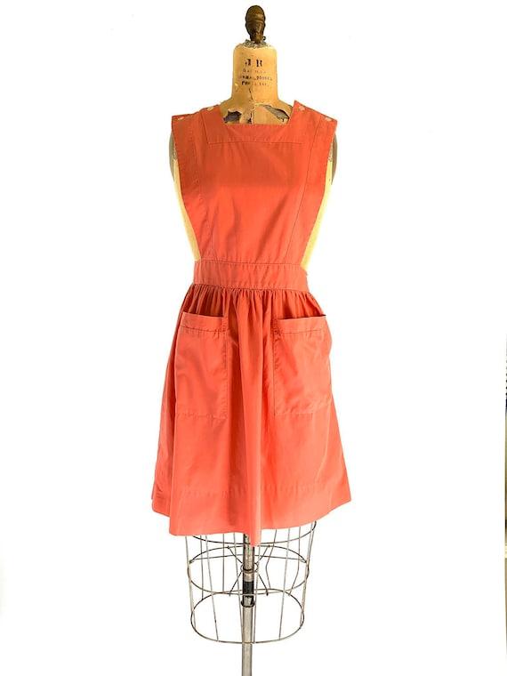 Vintage Nurse Apron Dress // Halloween Costume Can