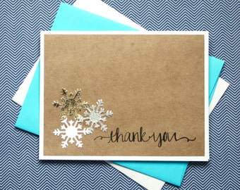 Winter Thank You Etsy