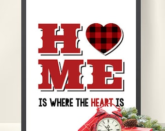 Home is Where the Heart Is Printable
