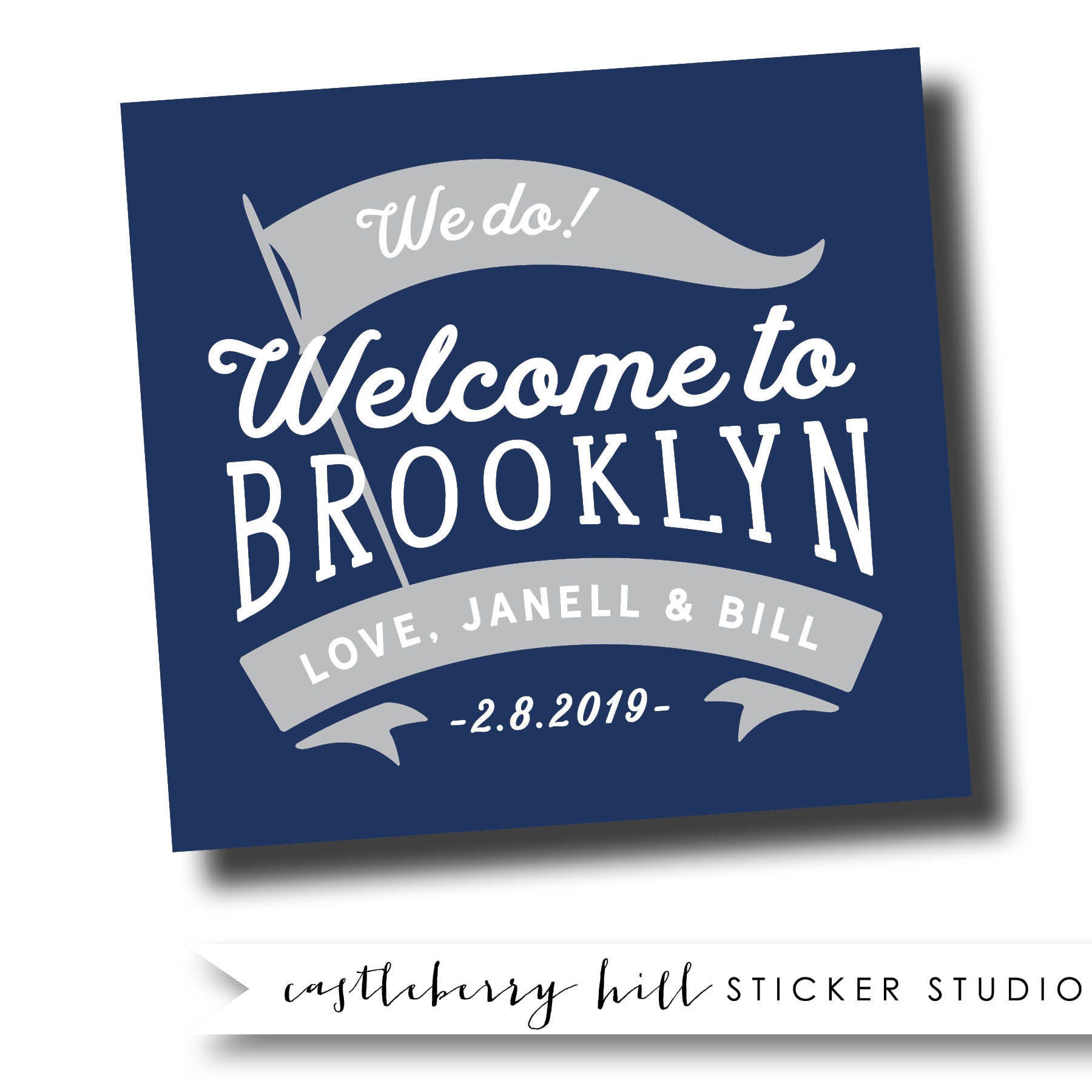 Brooklyn Stickers