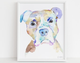 """Watercolor Dog Painting  