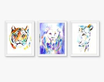 Watercolor Print Combos