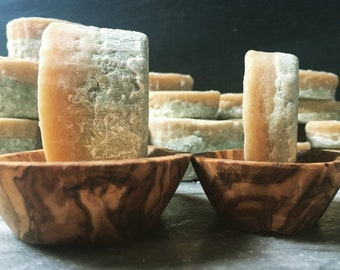 Shampoo Bar. Body Wash Bar and Conditioner Bar all in one. Vegan, Natural Ecocert approved ingredients. Vegan. 120g