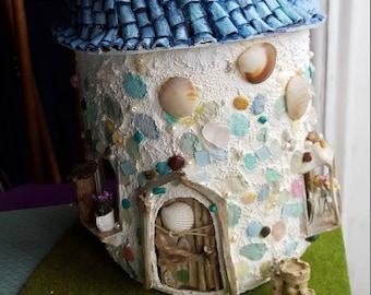 Sea Fairy House | Faeries | Magical | Fantasy | OOAK art