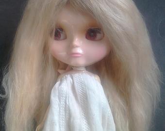 Suri Alpaca Light Blonde Doll Wigs