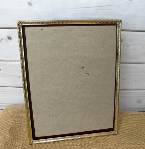 Gold Metal Frames Ornate Vintage Antique Baby Nursery Wedding