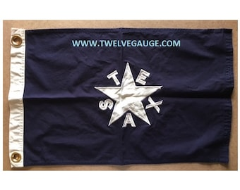 FIRST FLAG - CLOSEOUT Tea Stained Antiqued