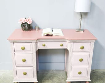 Pretty In Pink - All Grown Up - Desk!!!