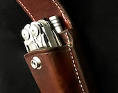 Leatherman sheath with extra pocket