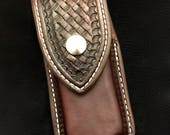 Nay's custom Leather Sheath to fit the OHT Leatheman