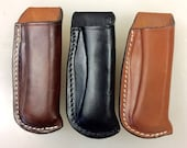 Open Top Leather Sheath f...