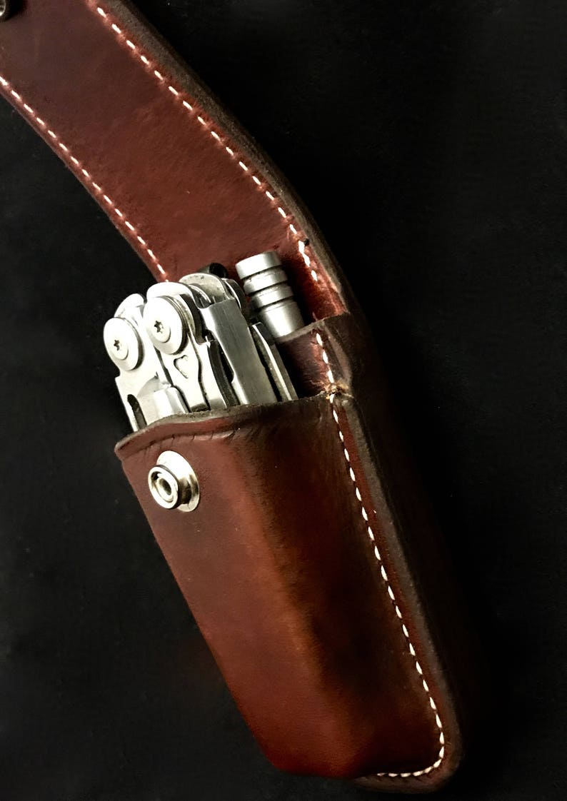 Leatherman sheath with extra pocket image 0