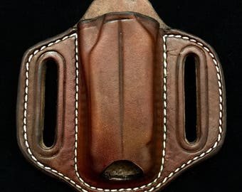 Open Top Straight Up Pancake Sheath for Most Multi-Tools