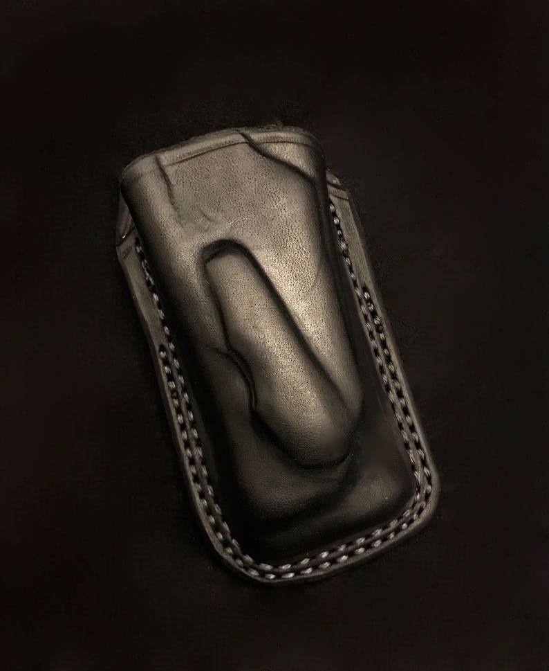 Custom Leather Open Top Case/Sheath for the Leatherman MUT image 1