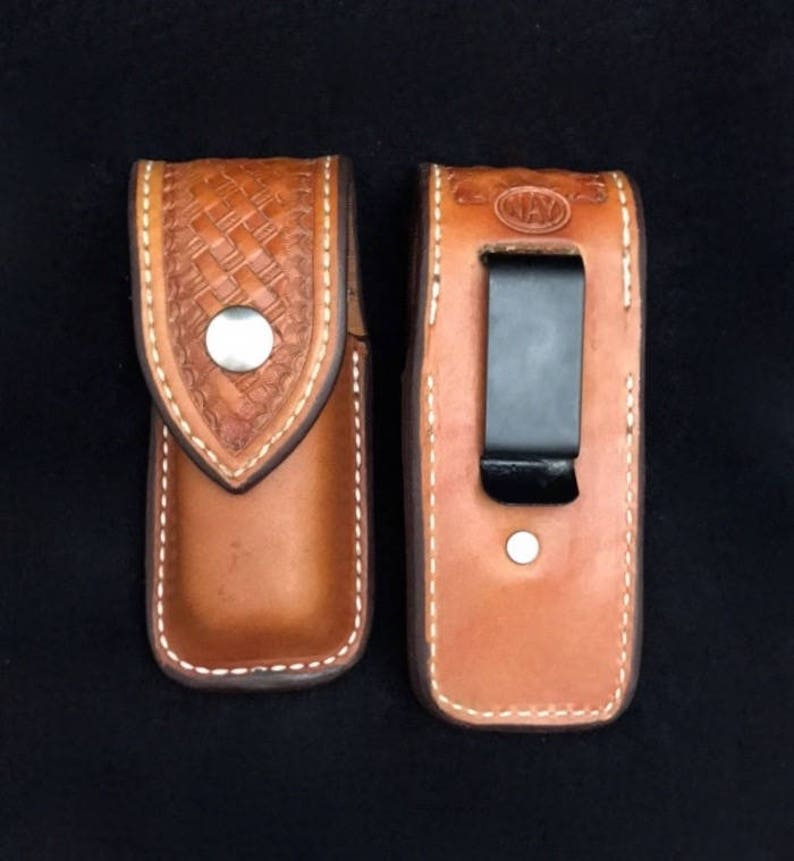 Nay Custom Leather Sheath for the leatherman with belt clip image 0