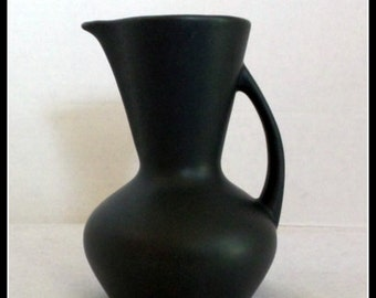 Black Clay Pitcher