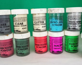 Embossing Powder Lot