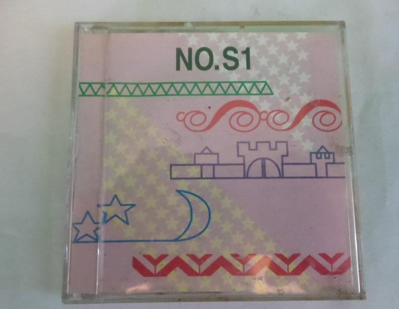 Brother Machine Embroidery Card Stitch Design NO S1