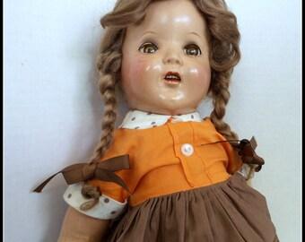 Vintage Doll Composition