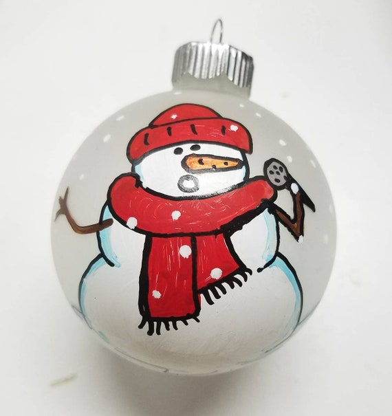 MICROPHONE  Personalized Christmas ornament