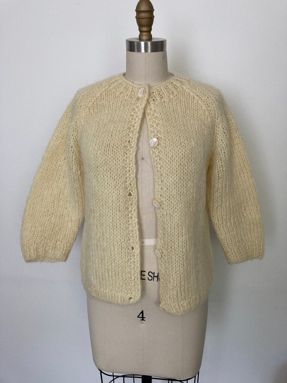 Vintage 1960s Mohair Sweater