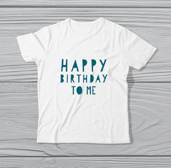 Cute Kids Birthday T Shirt Happy To Me