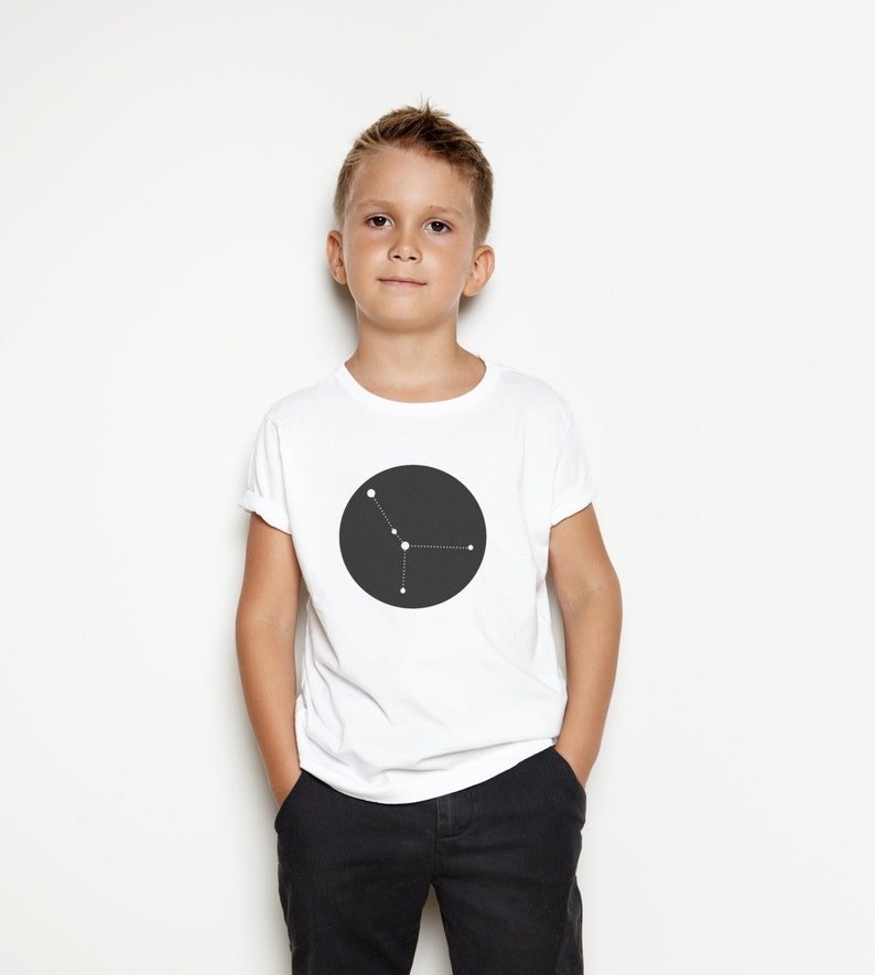 Personalised Children's Zodiac T-Shirt  Modern image 0