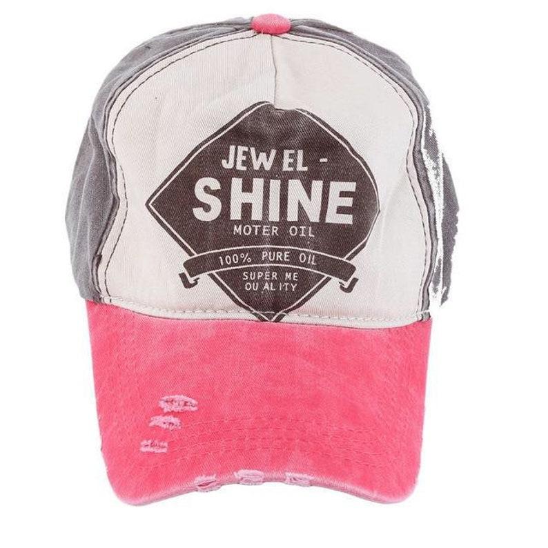 2bc32651 Womens Trucker Hats Womens Distressed Baseball Caps Trucker | Etsy