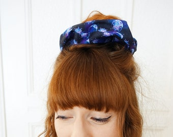 Scrunchie Moon & Sun Space Galaxy Witch Celestial