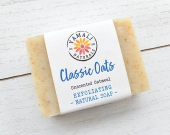 CLASSIC OATS | Cleansing Complexion Soap | Created for Greasy, Oily, and Acne-Prone Skin | Unscented Soap
