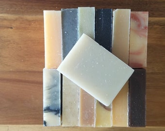 SOAPER'S DOZEN - Any 13 Bars of Yamali natural handmade soap - Bulk natural soap, shampoo bars