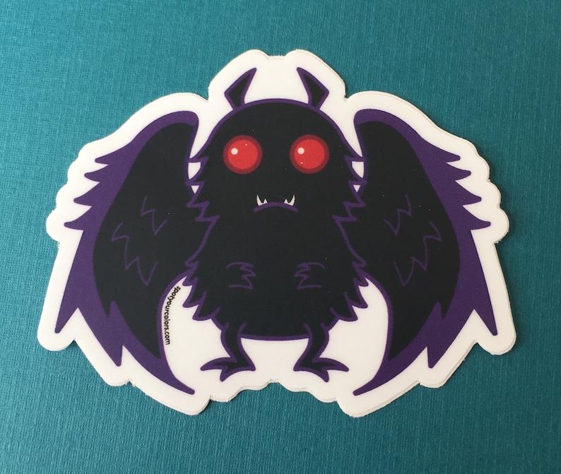 Mothman Sticker 3 image 0