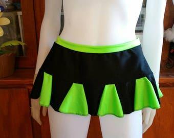 Rara Rave Cheerleader Skirt ...Rave outfit  burning man festival edc