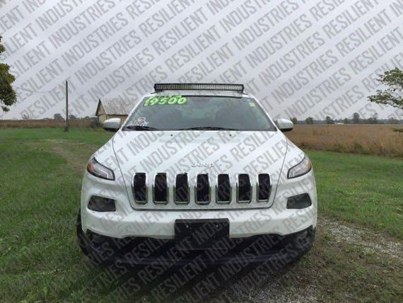 Jeep Cherokee Kl Curved Led Light Bar Brackets Mounts Trailhawk Latitude