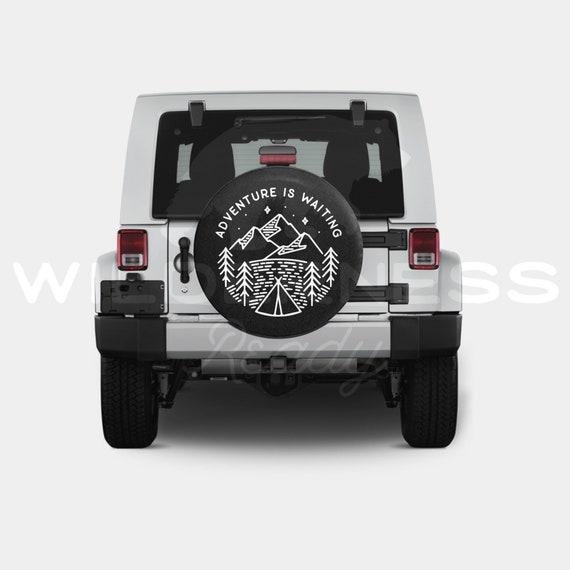 Spare Tire Cover For Jeep Wrangler Camper RV Jk Tj Yj Patriot America