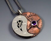 Ying Yang Necklace, Ameth...