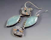Aquamarine Earrings, Swis...
