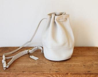 60c30bf878fe ... ireland coach white leather bixby drawstring bucket bag 9984 coach  small drawstring white leather sling bag ...