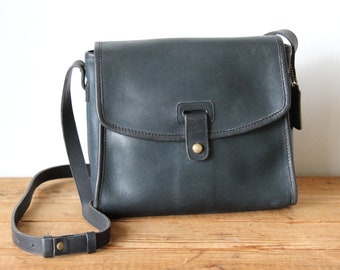 e75470d07f Vintage COACH Navy Mulberry Bag 9899   Coach Blue Leather Handbag   Coach  Messenger Bag   Coach Purse 040518-23